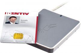 identiv uTrust 3700 F, DESFire, FeliCa, Calypso, NFC, USB, Gray-uTrust3700F